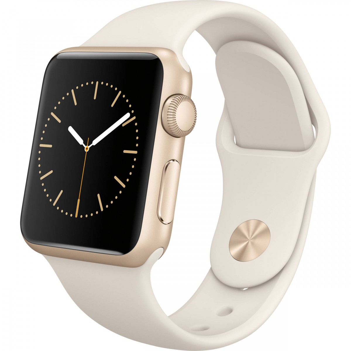 Řemínek SmoothBand pro Apple Watch Series 3/2/1 42mm - Anticky bílý