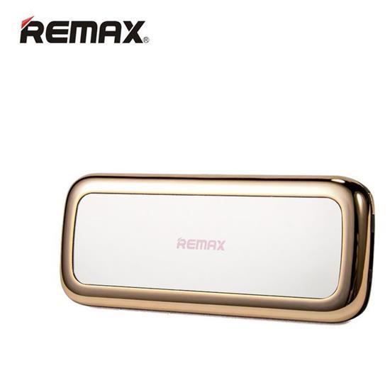 Luxusní Power Banka Remax MIRROR - 10 000 mAh, Zlatá