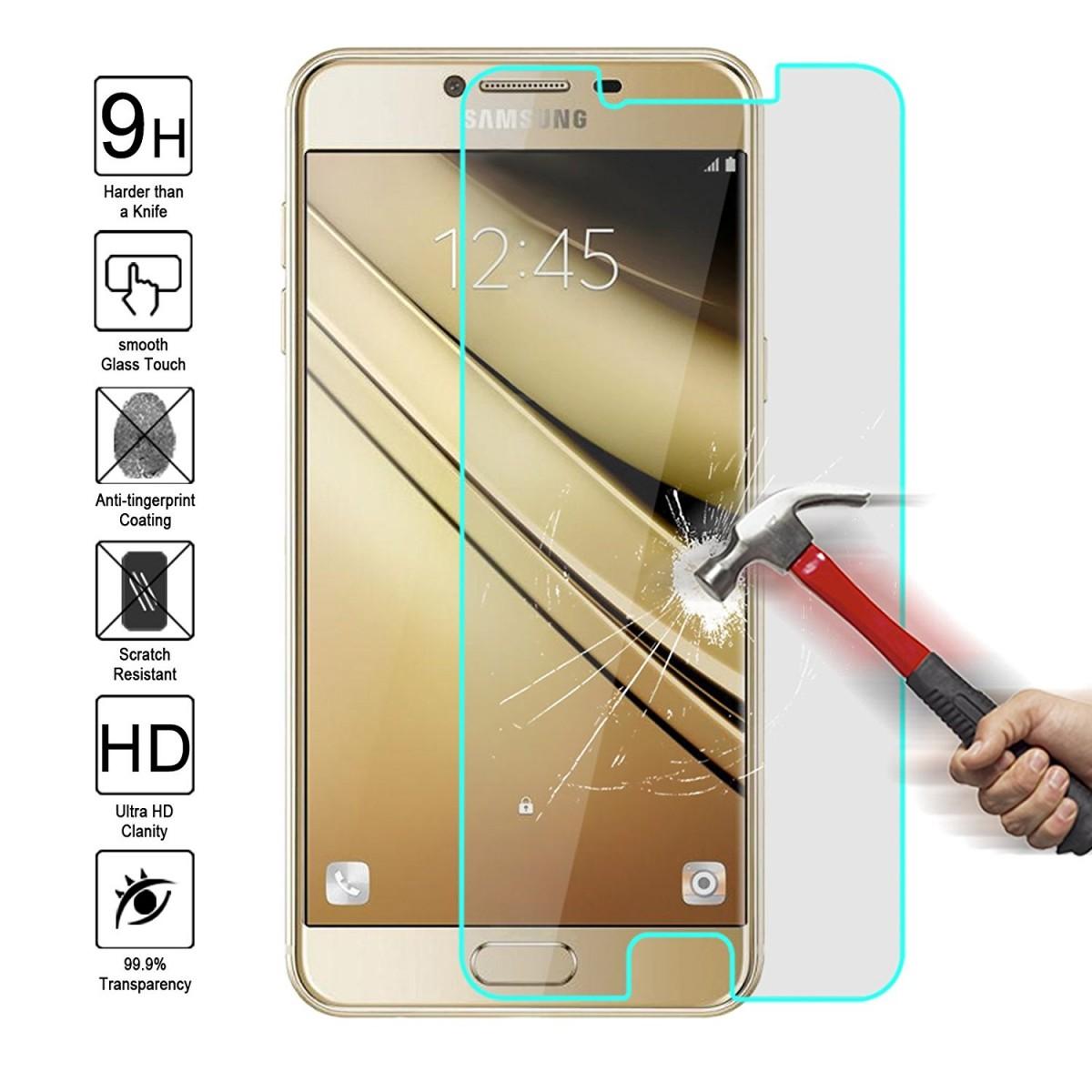 Ochranné tvrzené sklo 9H na displej pro Samsung Galaxy C5