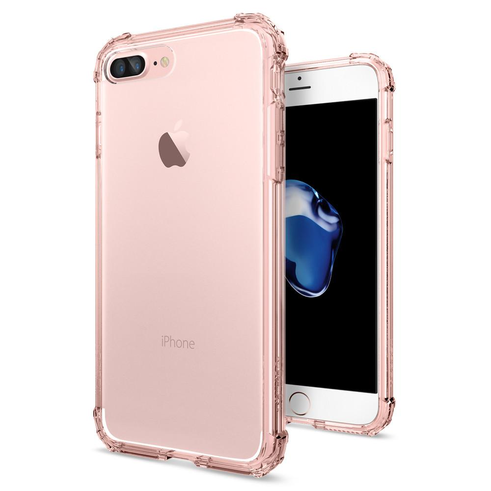 Pouzdro SPIGEN Crystal Shell pro Apple iPhone 7 Plus / 8 Plus - Rose Crystal