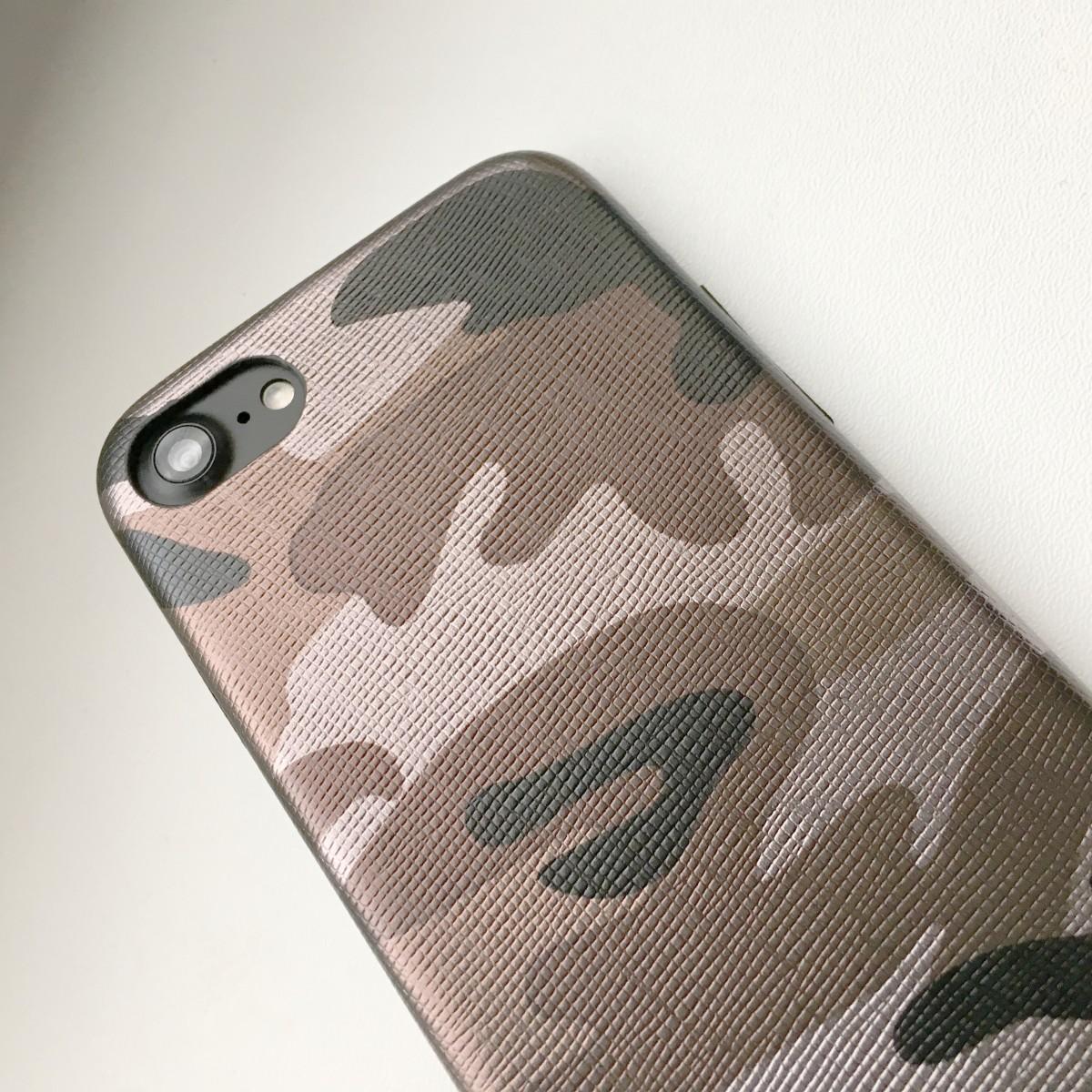 Kryt Army Camouflage pro iPhone 7 - Hnědý
