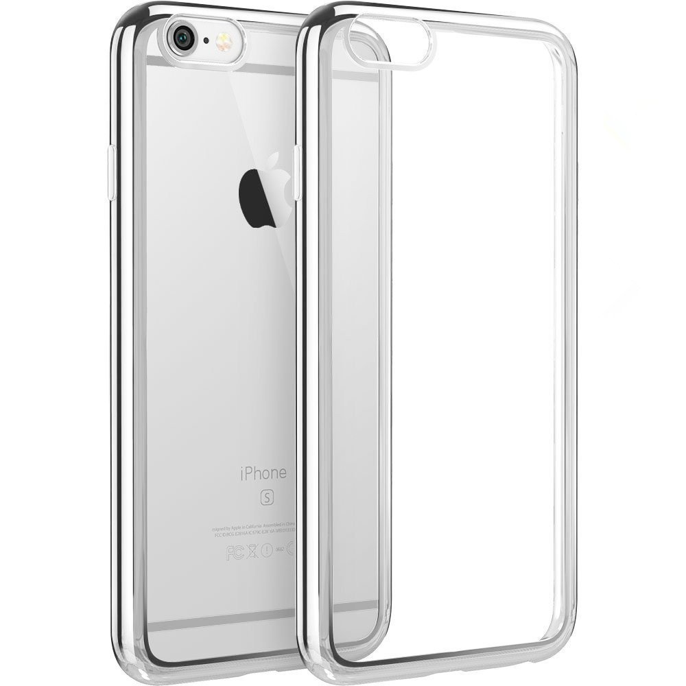 Elegantní obal / kryt RING pro Apple iPhone 7 - Stříbrný / Silver