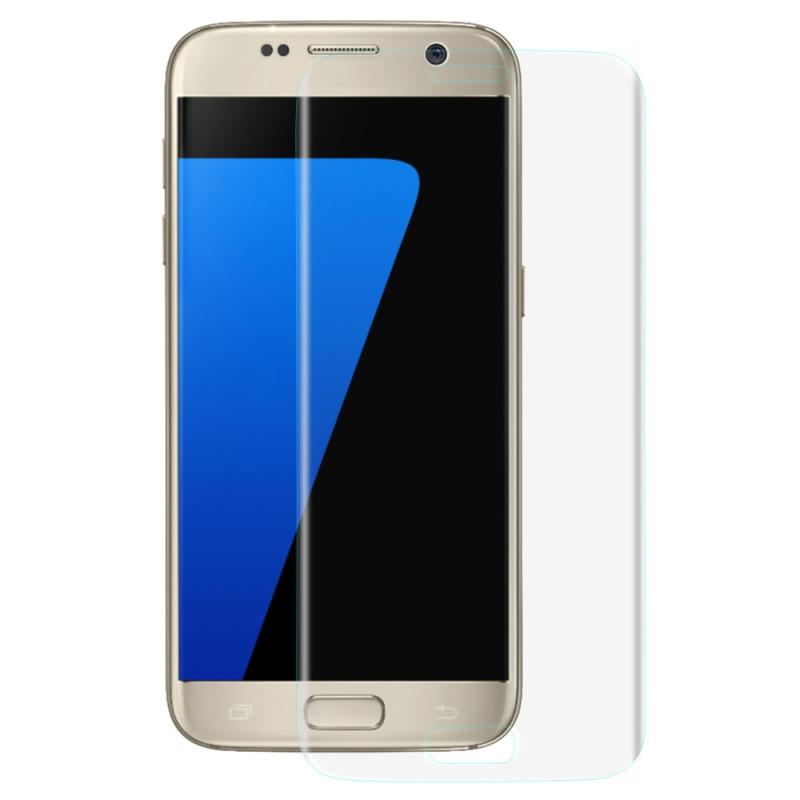 3D tvrzené sklo 9H na celý displej - Galaxy A3 (2017 - Čiré (clear)