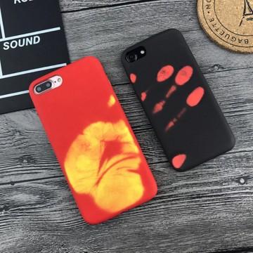 Magické kryty THERMAL měnící barvu pro Apple iPhone