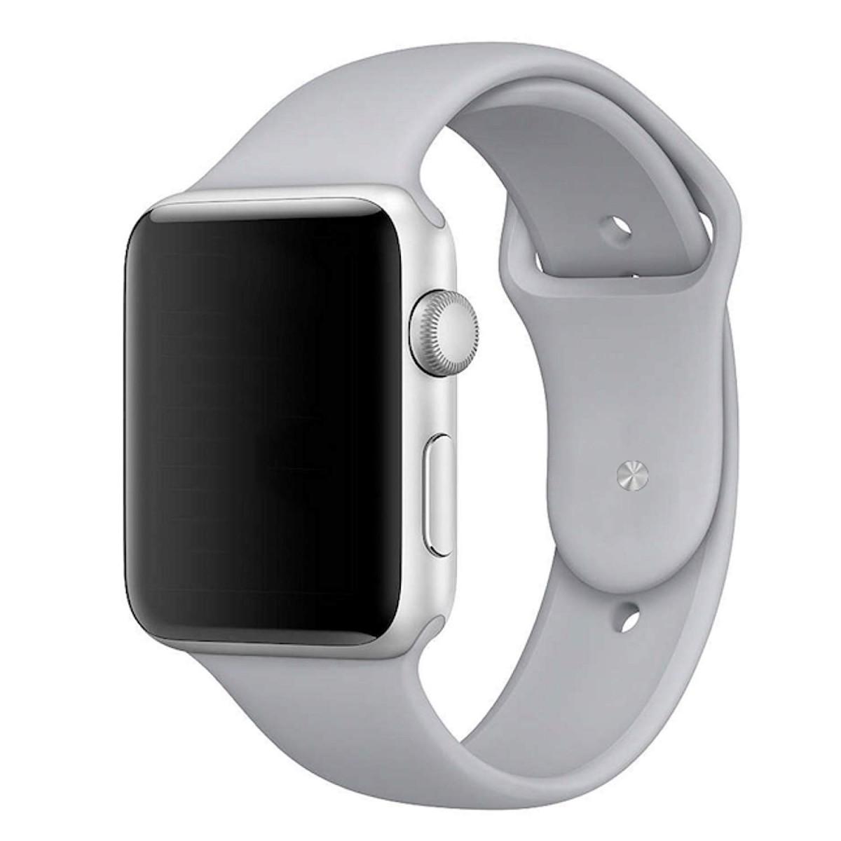 Apple Watch sportovní řemínek 42mm cementově šedý MNJ82ZM/A