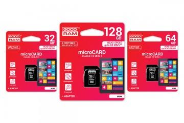 Paměťová karta GOOD RAM Micro SDHC / SDXC Class 10 UHS-I + SD adaptér