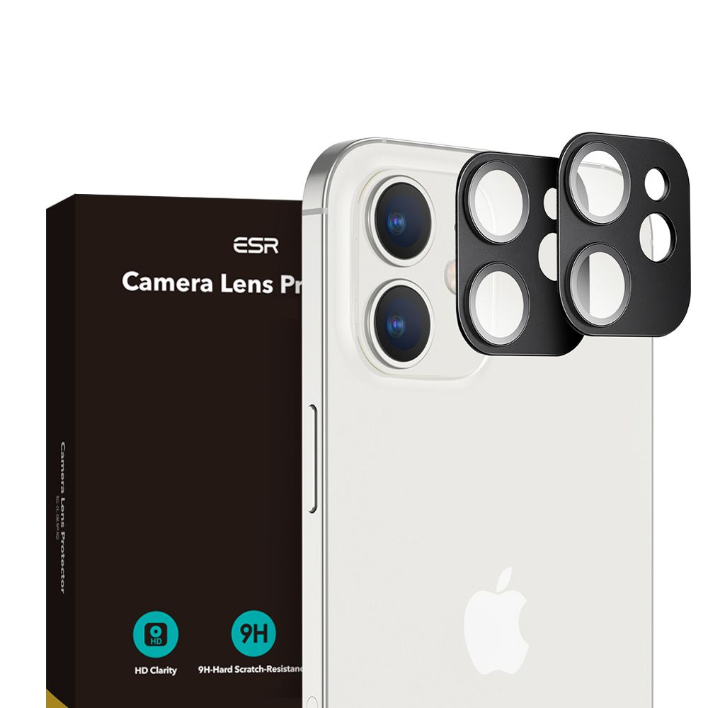 Pouzdro ESR Camera Lens Apple iPhone 12 [2 PACK]
