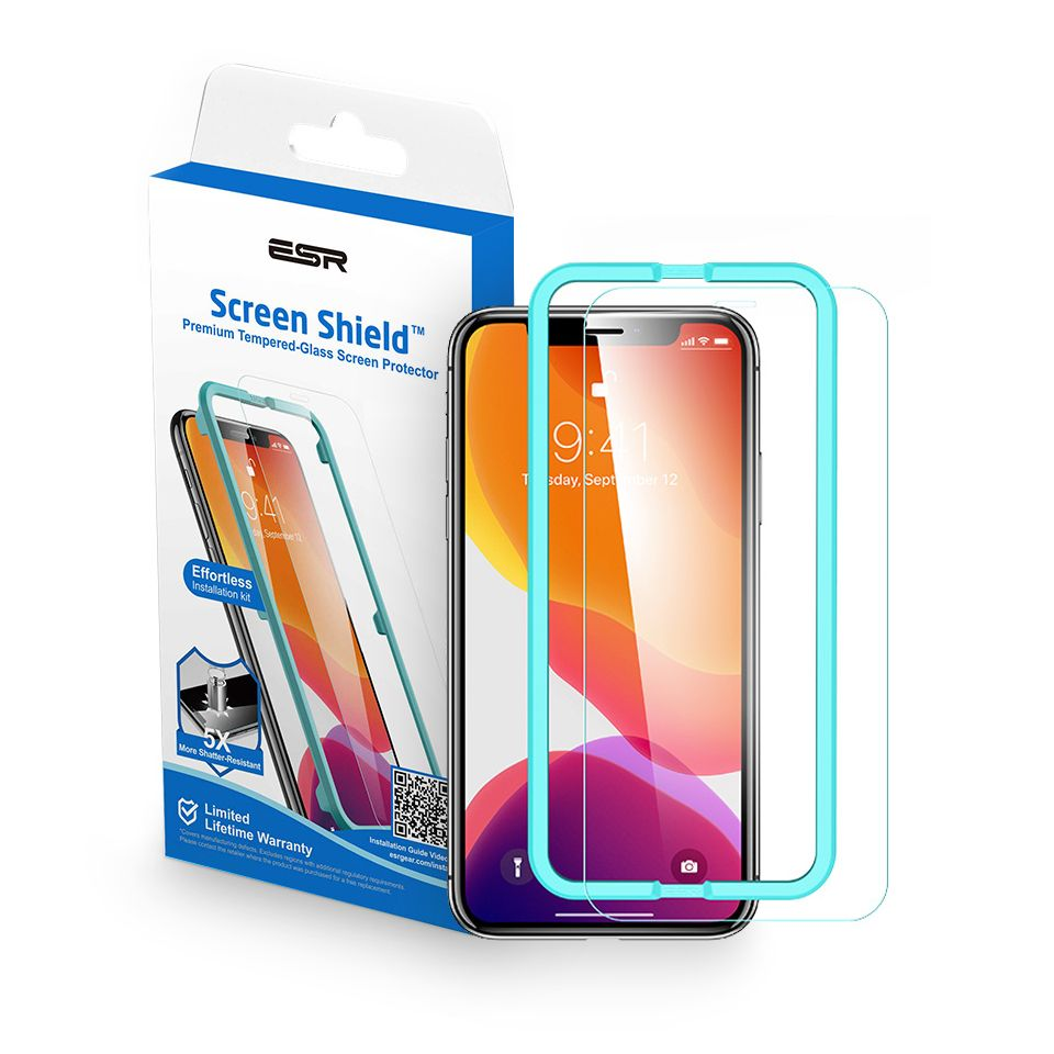 ESR Screen Shield iPhone 11 Pro/XS/X čiré