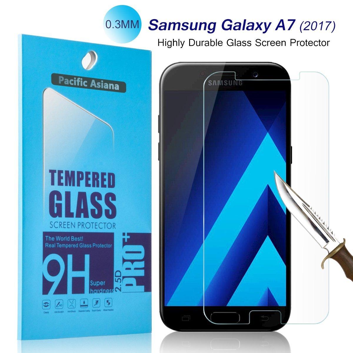 Ochranné tvrzené sklo 9H na displej pro Samsung Galaxy A7 (2017) / A7 Duos (2017)