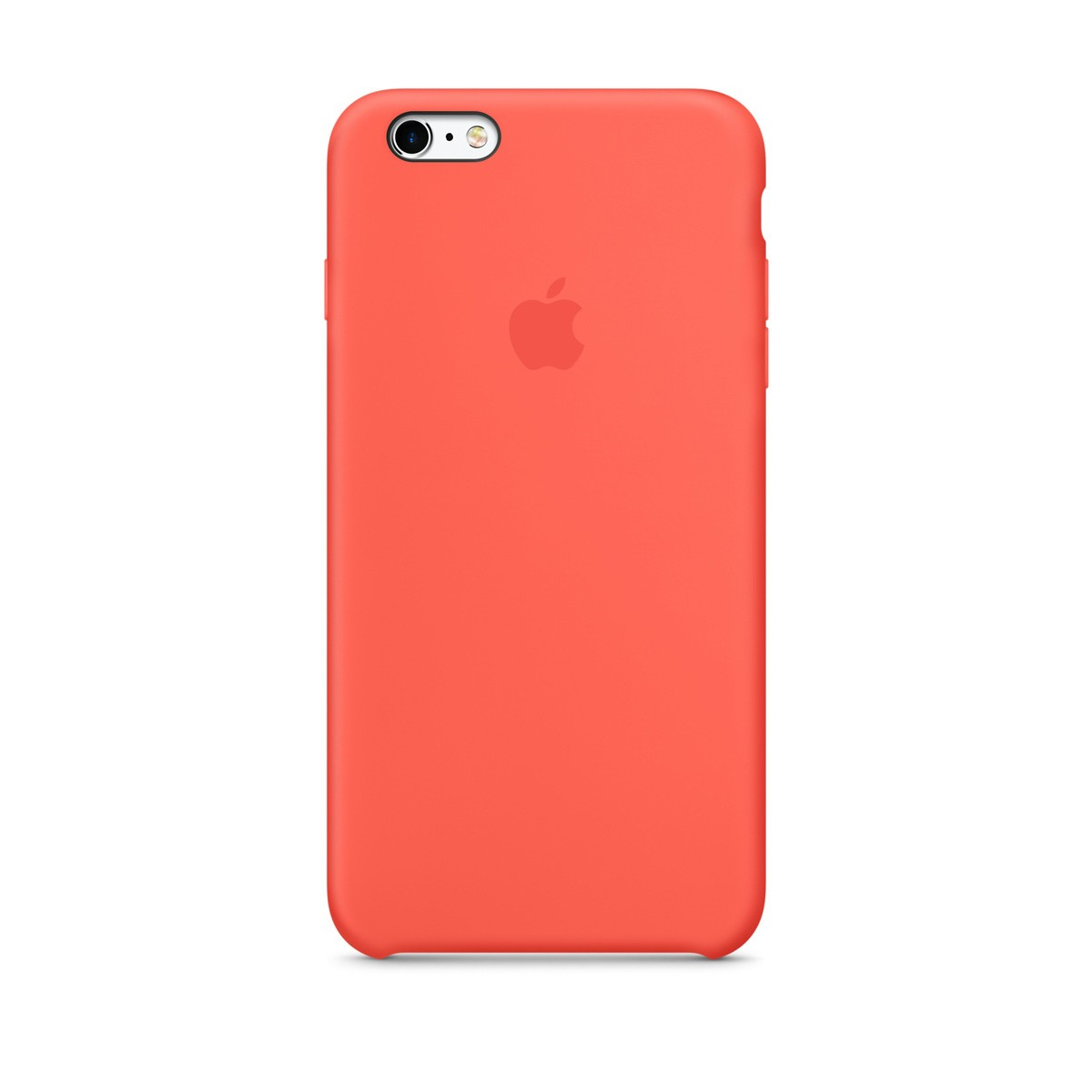 Pouzdro Apple iPhone 6/6S Silicone Case Apricot