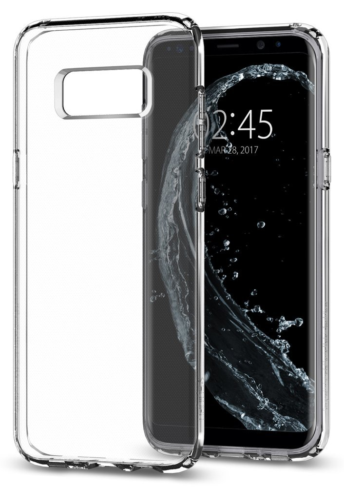 Silikonový obal / kryt Goospery Mercury pro Samsung Galaxy S8 Plus (S8+) - čirý