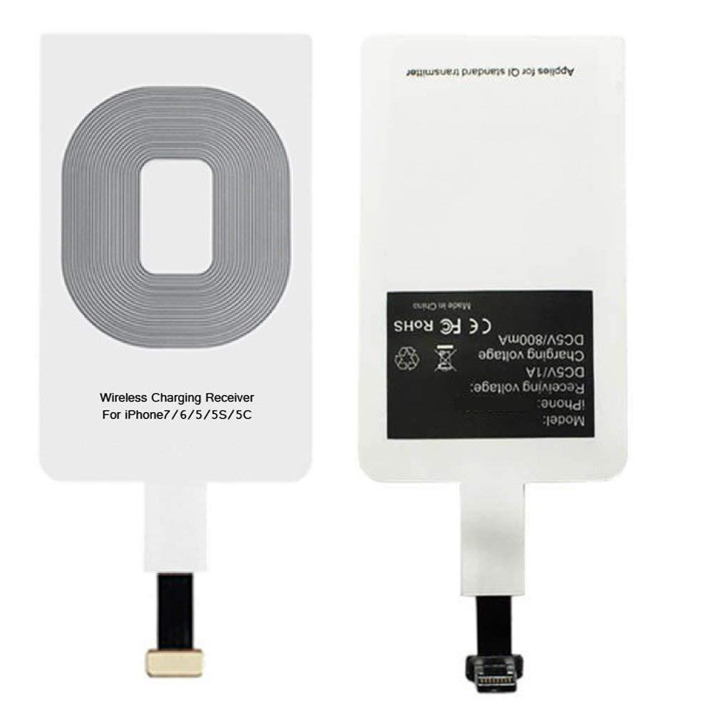Příjímač Qi pro bezdrátové nabíjení s Lightning konektorem