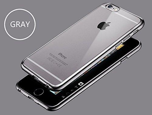 Elegantní obal / kryt RING pro iPhone 6s Plus / 6 Plus - Šedý (gray)