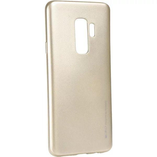 Silikonový kryt Goospery Mercury iJelly Metal na Galaxy S9 Plus - Zlatý