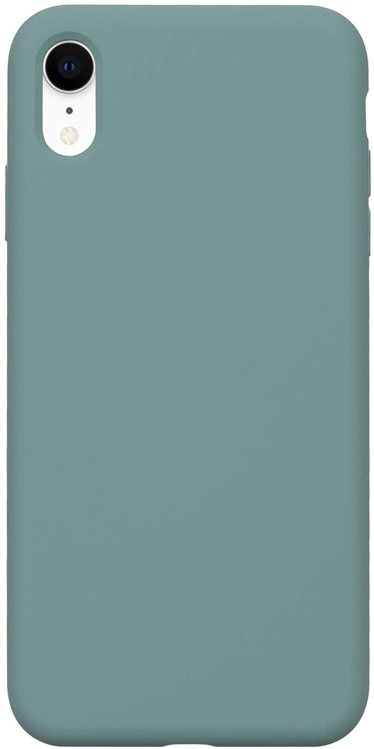 Pouzdro iMore Silicone Case iPhone XR - Smrkově zelený