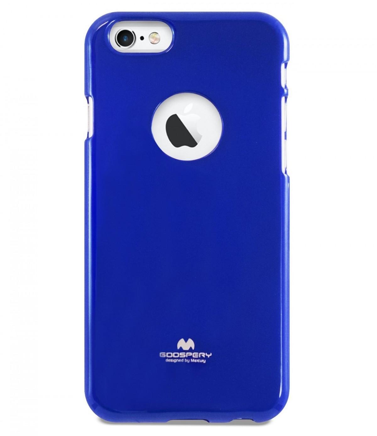 Tenké silikonové obaly / kryty Goospery Mercury pro Apple iPhone 6s/6 - Modrý / Blue