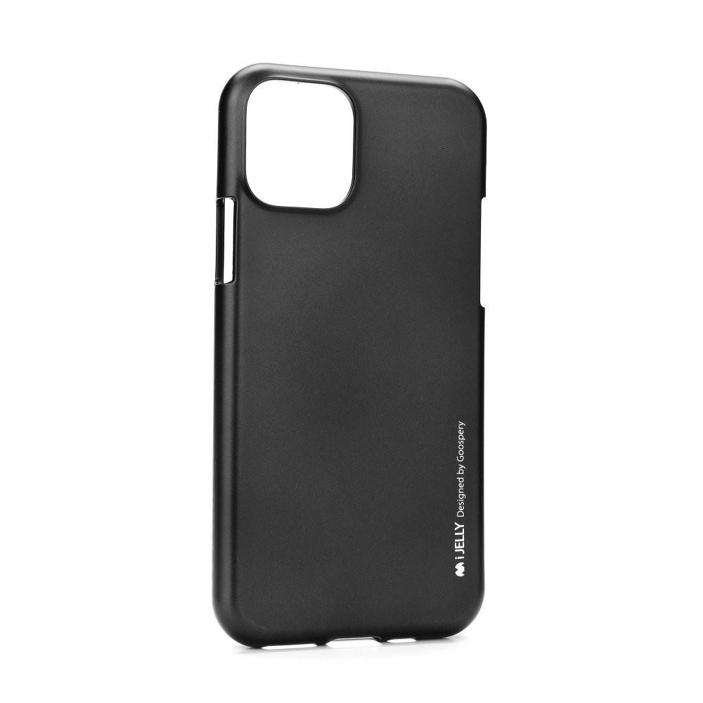 Pouzdro Mercury i-Jelly Metal iPhone 11 - Černý