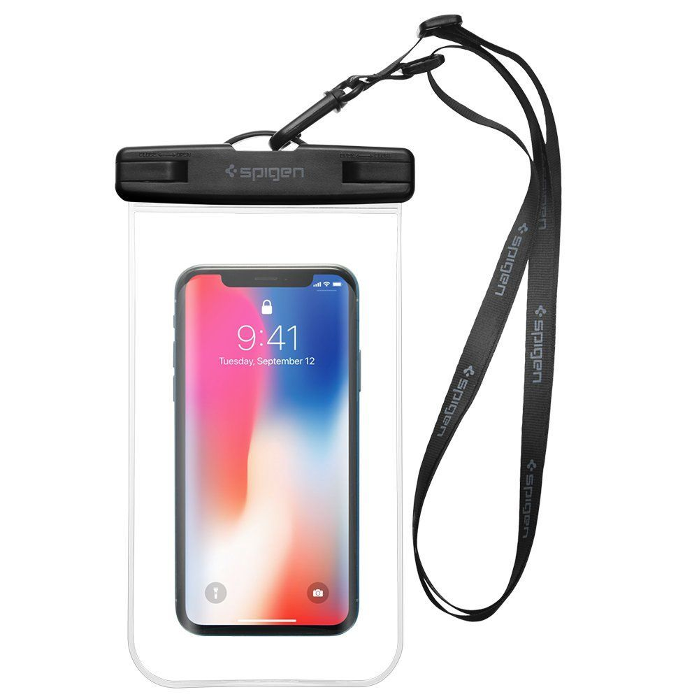 Pouzdro Spigen Velo A600 Waterproof Phone - Čiré