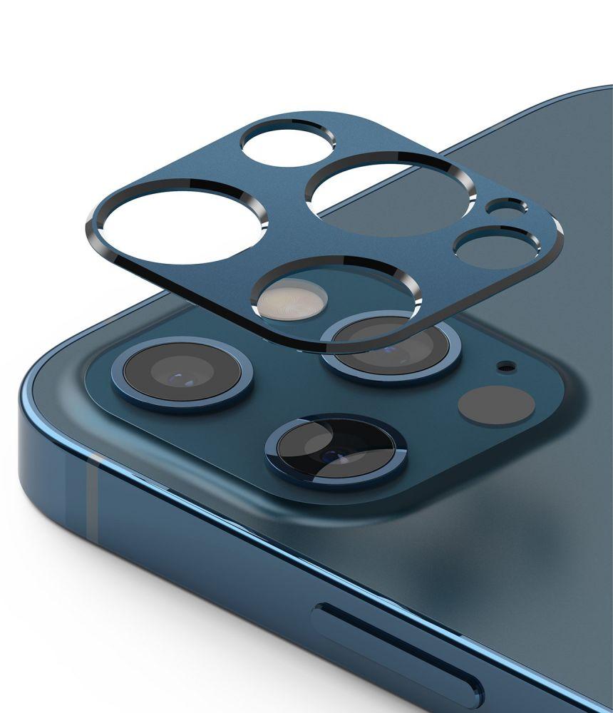 Ringke Camera Styling iPhone 12 Pro - Modré