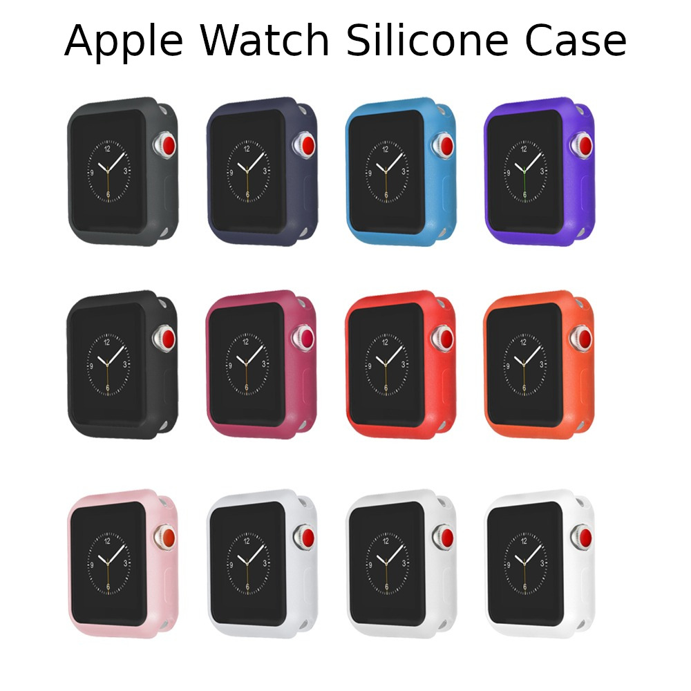 Silikonový kryt SILICONE CASE na Apple Watch Series 3/2/1 (38mm)
