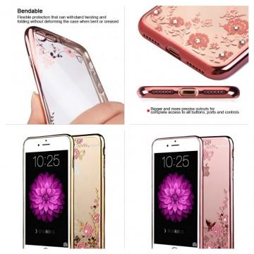 Obal / kryt Flower Garden pro iPhone 8 a iPhone 7