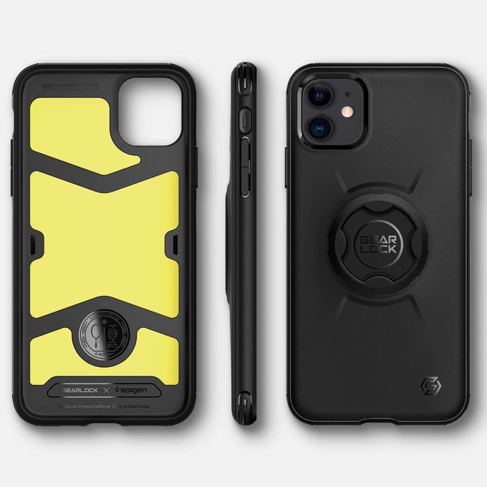 Pouzdro Spigen GearLock GCF112 na iPhone 11 černé