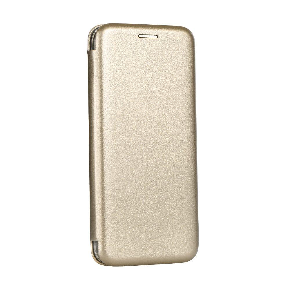 Pouzdro Forcell Kabura Book Elegance pro Apple iPhone SE/5S/5 - zlaté