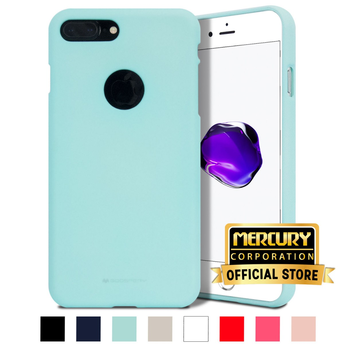 Obal / kryt Mercury Soft Feeling Apple iPhone 8 Plus / 7 Plus