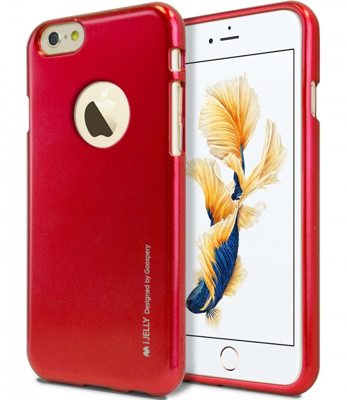 Pouzdro iJelly Metal Goospery Apple iPhone 6s Plus   6 Plus - Metalicky  vínové 22c8a1d66bc