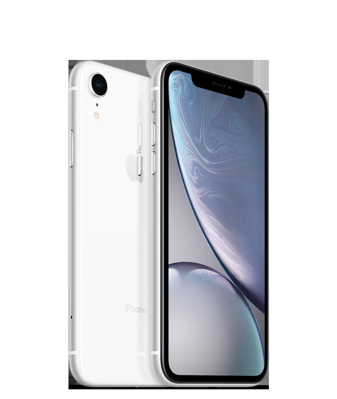 Apple iPhone XR - 256GB, bílá