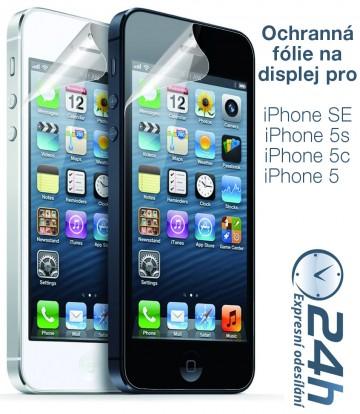 Fólie na displej CLEAR pro iPhone SE / 5s / 5c / 5