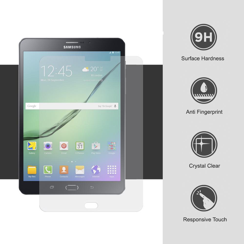 Ochranné tvrzené sklo 9H na displej pro Samsung Galaxy Tab S2 8.0 T710 / T715