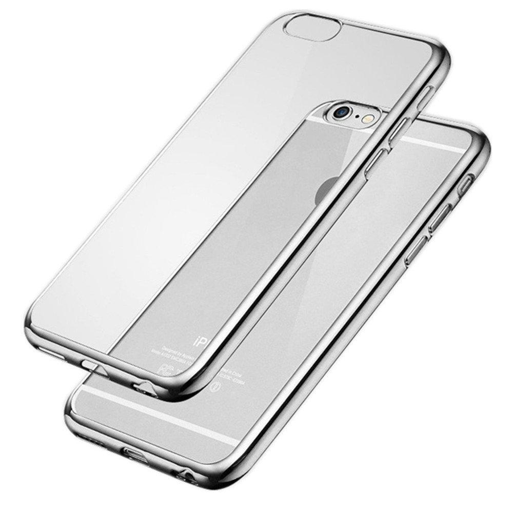 Elegantní obal / kryt RING pro iPhone 6s / 6 Plus (silver)