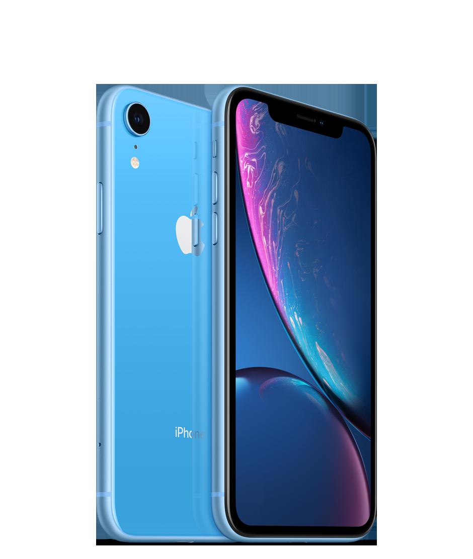 Apple iPhone XR - 256GB, modrá
