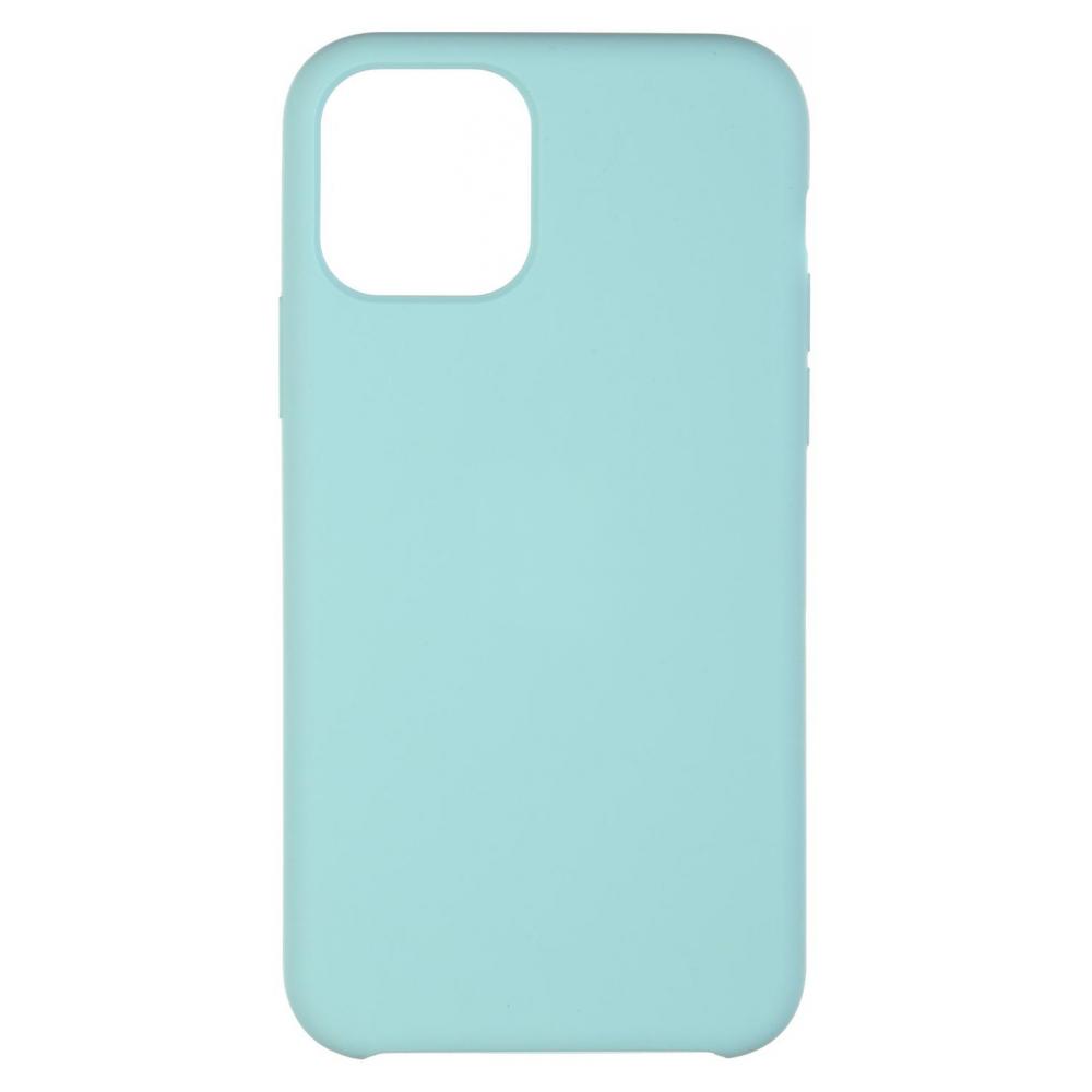 Pouzdro iMore Silicone Case iPhone 11 - Brčálově zelený