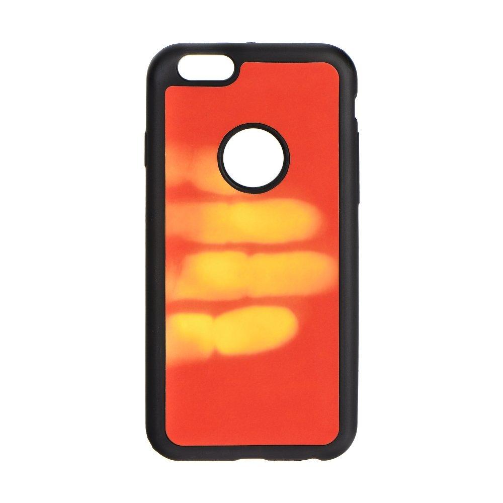 Kryt Forcell Thermo měnící barvu pro Apple iPhone - 6S / 6, ČERVENÝ