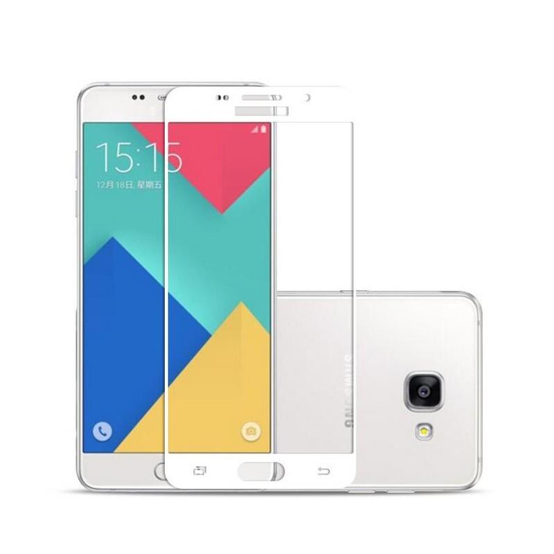 Tvrzené ochranné sklo FullCover na celý displej pro Samsung Galaxy A5 (2016) A510 - Bílé