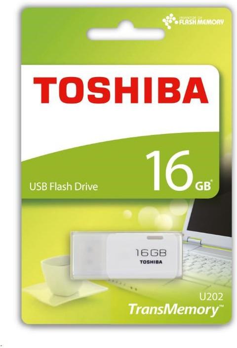 TOSHIBA 16GB Flash disk USB 2.0 U202 THN-U202W0160E4