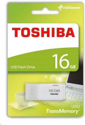 TOSHIBA 16GB Flash disk USB 2.0 U202 THN-U202W0160E4