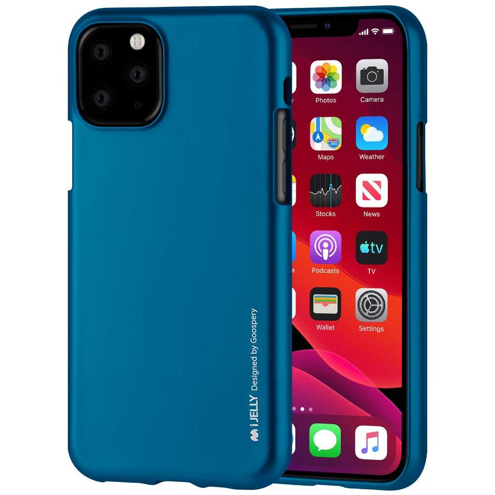 Pouzdro Mercury i-Jelly Metal iPhone 11 Pro - Modrý