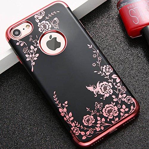 Obal / kryt Flower Garden pro iPhone 6s Plus / 6 Plus - Noční zahrada