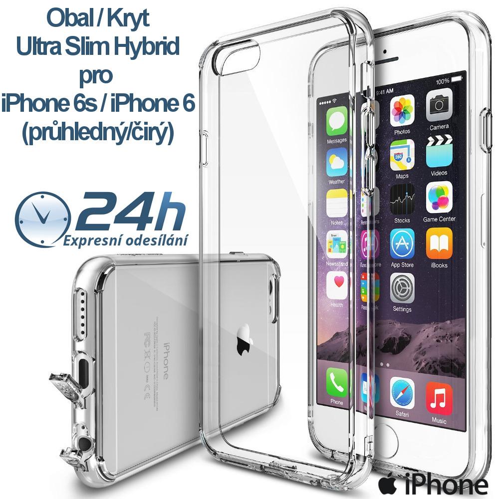 Průhledný čirý obal / kryt na iPhone 6s / 6