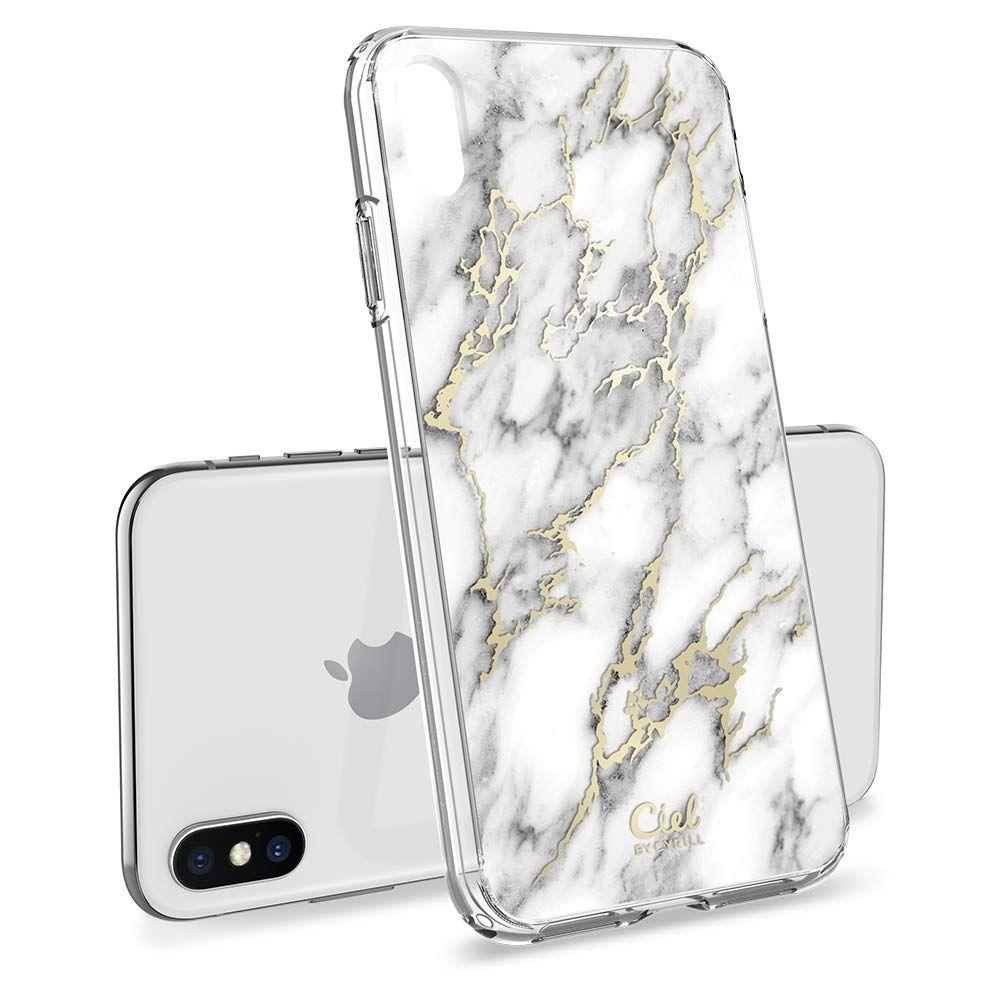 Pouzdro SPIGEN Ciel iPhone XS / X - Marble
