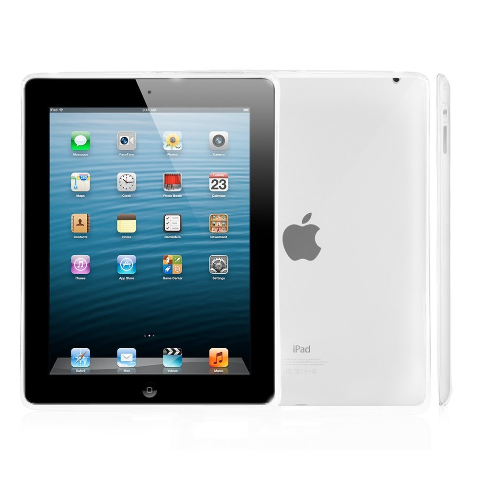 Silikonový průhledný obal / kryt pro Apple iPad 2 / 3 / 4 (čirý)