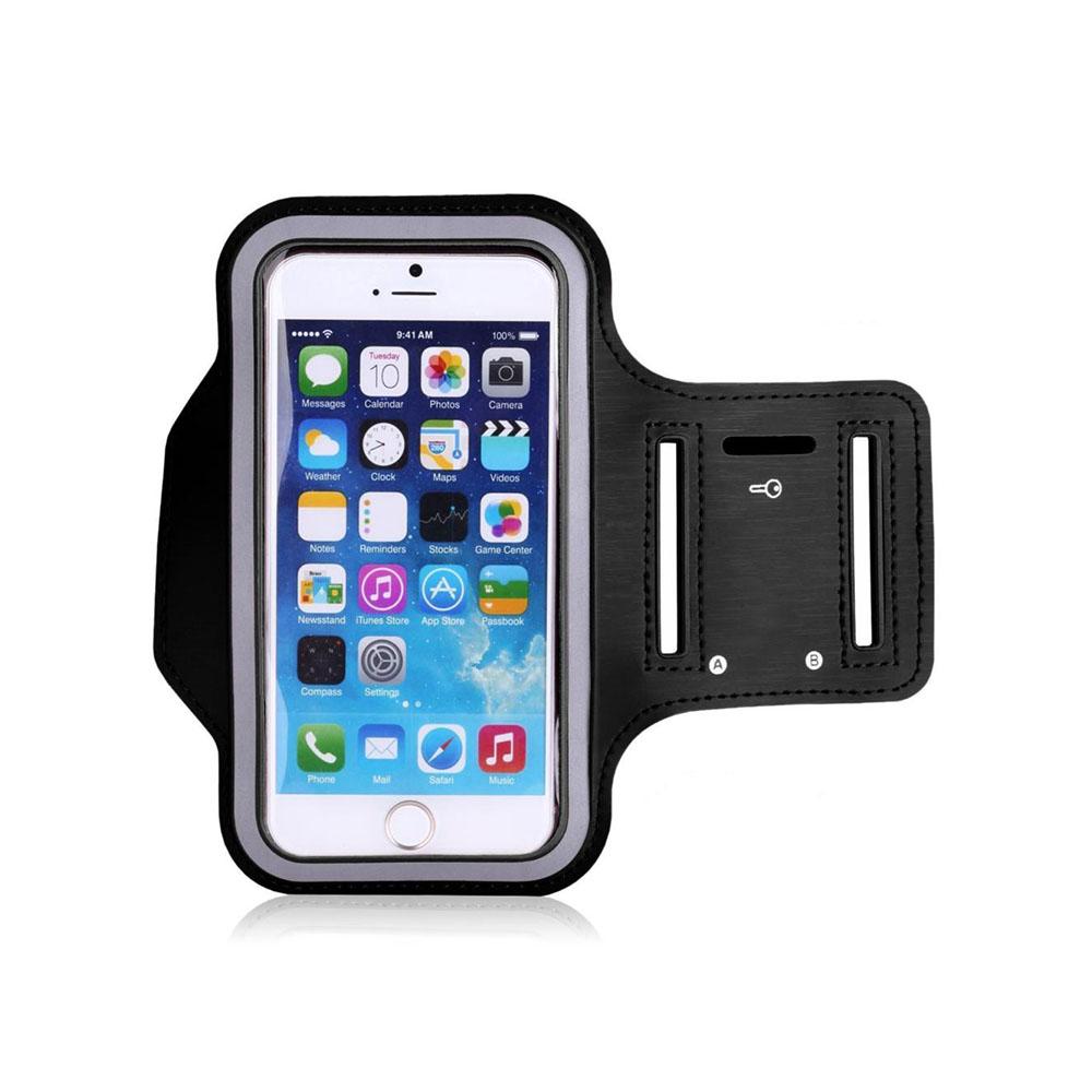 Pouzdro SES Sportovní ruku Apple iPhone 6/6S 7 8 X - černé