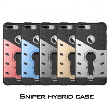 Velmi odolný kryt SNIPER se stojánkem pro Apple iPhone 8 Plus