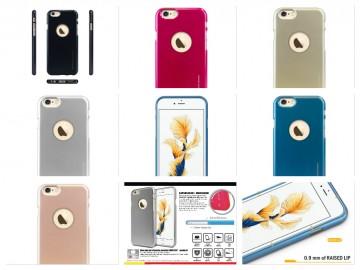Silikonový obal / kryt iJelly Metal od Goospery Mercury pro Apple iPhone 6s/6