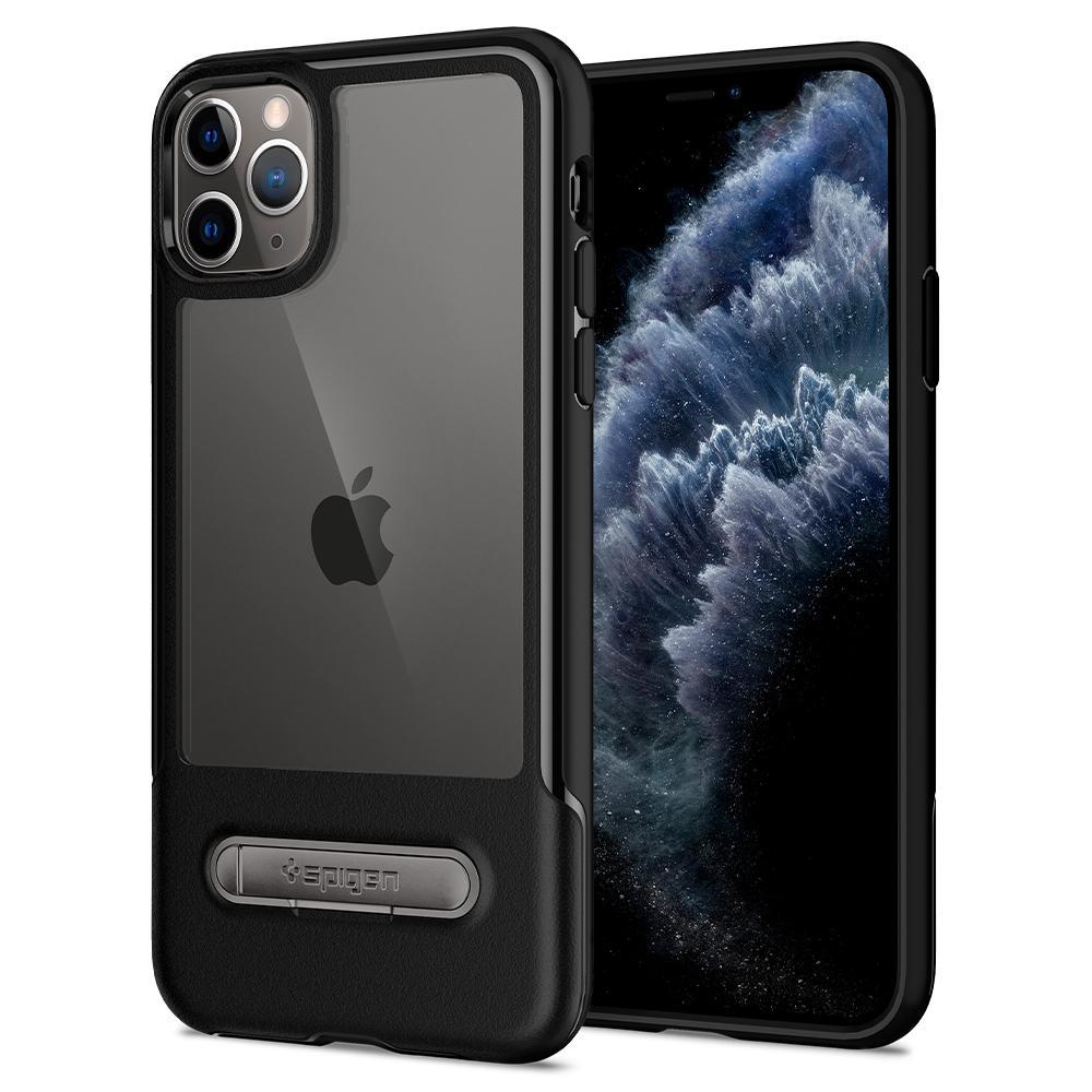 Pouzdro Spigen Slim Armor Essential S iPhone 11 Pro - Černé