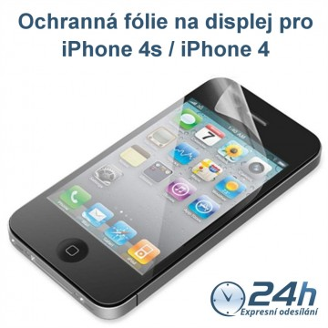 Fólie na displej CLEAR pro iPhone 4s / 4