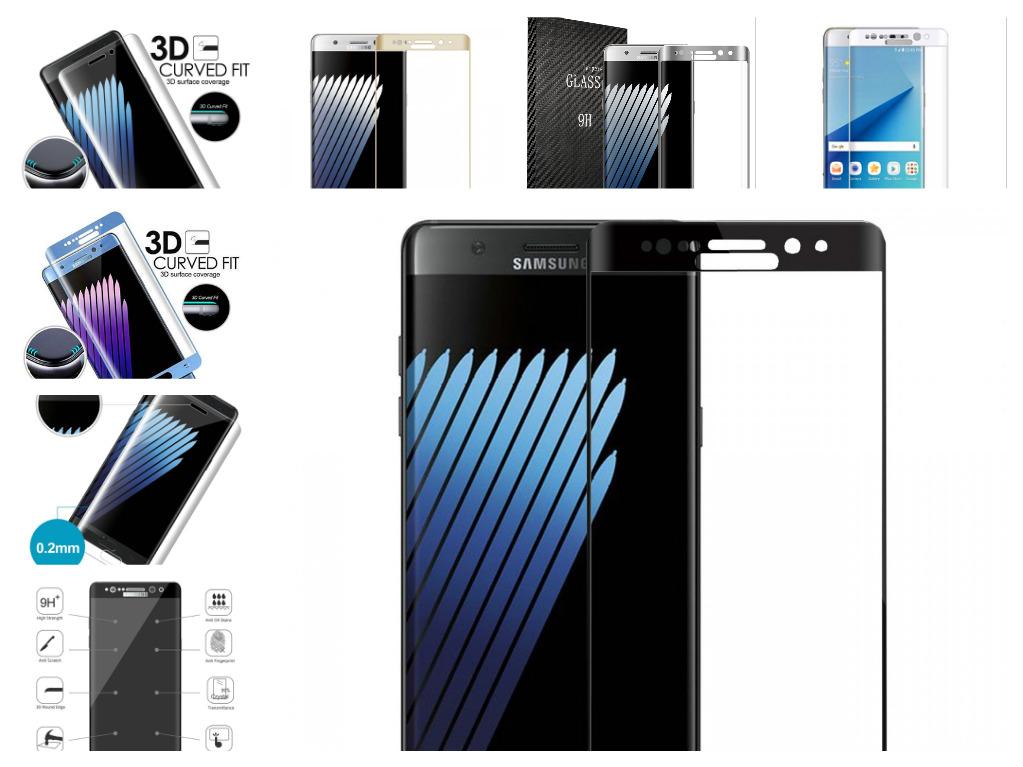 3D Tvrzené sklo 9H na celý displej pro Samsung Galaxy Note 7
